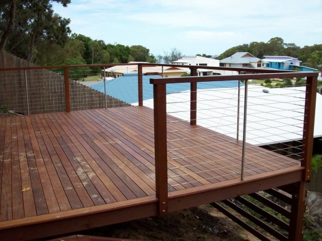 Cairns Balustrades Amp Fencing Cairns Wire Balustrading